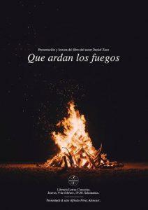 Libro Que ardan los Fuegos Daniel Zazo