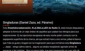 Singladuras en #mediahoradeevasión, #LaLiBéLuLaR3 de Radio 3